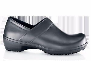 888570bd9457 Shoes for Crews SFC Luna Rubber Blend Black Women s 9.5  4009 po
