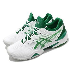 Details about Asics Court FF Novak Djokovic Indian Wells White Green Men Tennis 1041A089-104