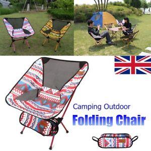uk lightweight camping folding chair picnic hiking seat ultra light