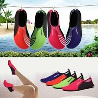 Women Men's Water Shoes Slip On Flexible Pool Beach Swim Surf Yoga Slipper Shoes