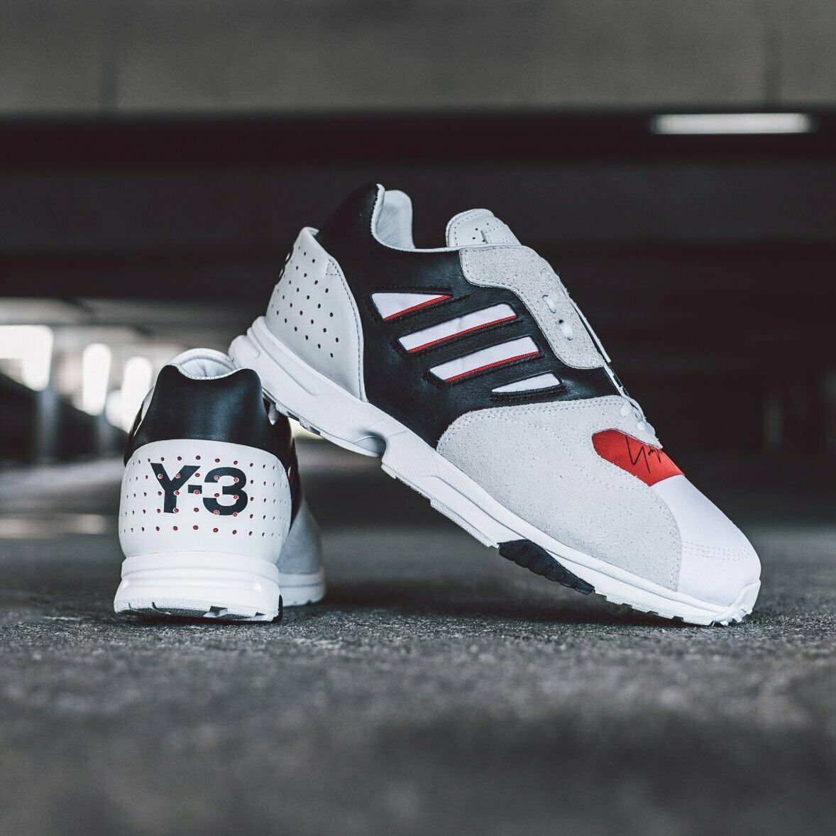 Adidas Y3 Zx entrenadores UK4 Yohji Yamamoto's Run Y-3 1000 C 4000 Originals ADV TR