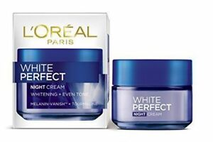 L'Oreal Paris White Perfect Night Cream, 50ml pack uk