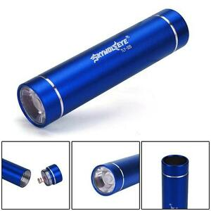 CREE-XM-L-XPE-LED-AA-Flashlight-Torch-1200-LM-Aluminum-Portable-Outdoor-Blue-FT
