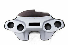 """BATWING FAIRING FOR HARLEY HARLEY TOURING ROAD KING 4 OF 5"""" SPEAKER HOLES"""