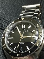 Halios TROPIK Black Dial, EXCELLENT and VERY RARE!!!!! w/ Box And Card!