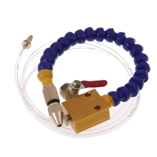 Mist Coolant Lubrication Spray System For 8mm Air Pipe CNC Lathe Mill Drill ^p
