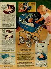 1970 PAPER AD Doll Miss Peep Snuggle Softee Baby Go-To-Sleep Newborn Buggy