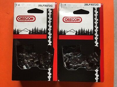 "1 Oregon 18/"" chainsaw chain 95TXL072G narrow kerf .325 .050 72 DL M72  H30-72"