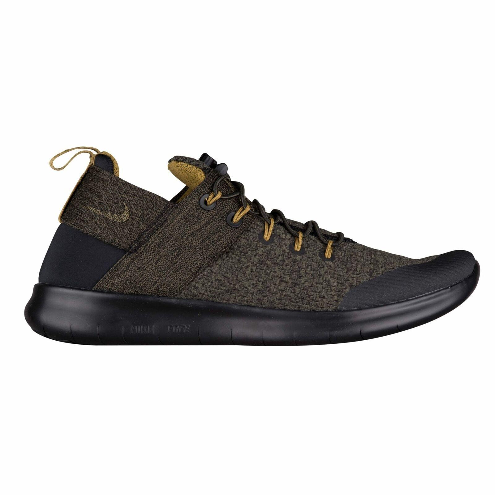Nike Free RN Commuter 2017 Premium Men's Black Desert Moss Medium Olvie A2430002