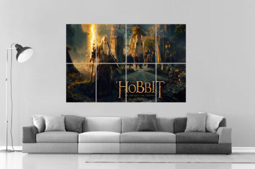 The Hobbit  Wall Poster Grand format A0  Large Print