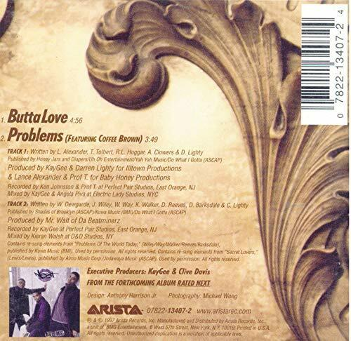 Butta Love - Next - EACH CD $2 BUY AT LEAST 4 1997-08-19 - Arista - Very Good