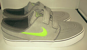 New Nike Stefan Janoski AC (GS) Sneakers Skater Shoes Cool Grey Youth Size Y 6