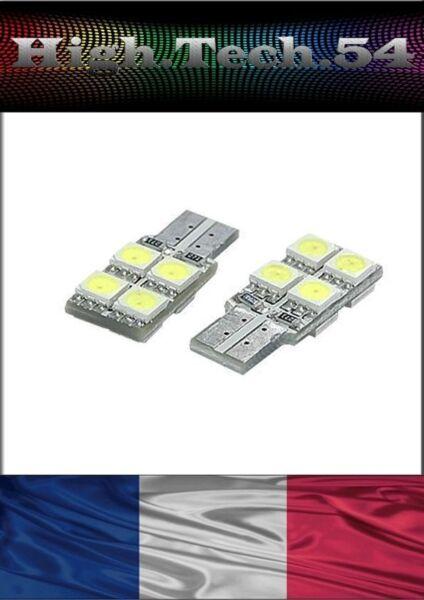 **ampoules 8 Led Smd W5w T10 Veilleuses Position Blanc Xenon**