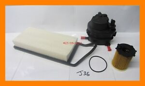Service-Kit-Oil-Filter-Fuel-Filter-amp-Air-Filter-FORD-FUSION-1-4-TDCi-Diesel