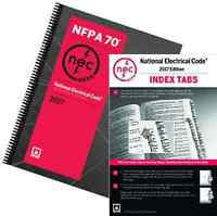 Nfpa 70: National Electrical Code (nec) Spiralbound And Index Tabs, 2017 Edition