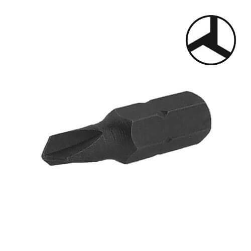 Bit für Tri-Wing® Sicherheits-Schrauben 2x Schraubendreher-Einsatz