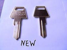 2 Original American Padlock Key Blanks 5 Pin