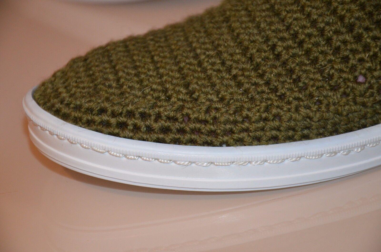 Damens wool crochet Stiefel, slippers, handmade house schuhe, crochet slippers, Stiefel, rubber sole adbb6b