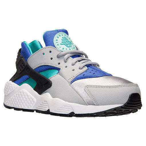 AUTHENTIC NIKE Air Huarache Run Wolf  Gris  Persian Violet 634835 008 Femme Taille