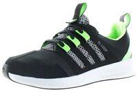 pMens Adidas Originals SL Loop Sneakers New, Black / Lime  / Grey C77713