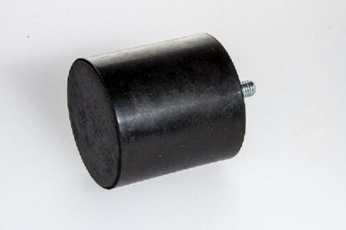 H 50  Silent Block Bloc Maschinenfuss Gummipuffer Silentblock Typ D  M10  Ø 50