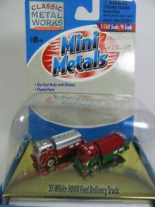 Classic Metal Works 1:160  White 3000 Tankwagen   (2)     USA Fertigmodell