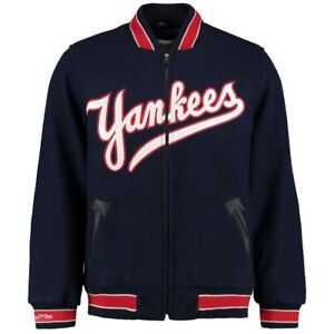 5a622f10426 New York Yankees Mitchell   Ness 1951 Authentic Vintage Wool Varsity ...