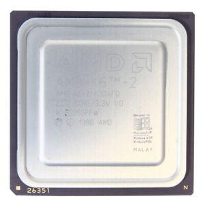AMD Mobile K6-2-P AMD-K6-2/475ACK 475MHz/32KB/95MHz Socket/Socket Super 7 CPU