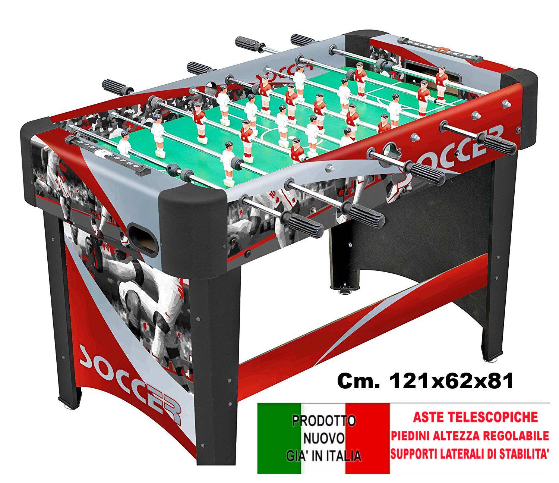 Calcio Balilla League - aste telescopiche - CALCETTO  - BILIARDINO - NUOVO - ROB