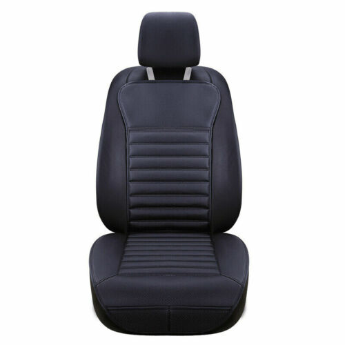Universal PU Leather Full Front Car Seat Covers Cushion Protectors Auto Soft Mat
