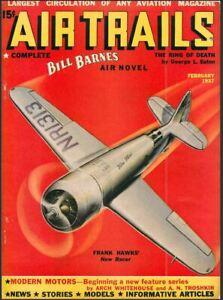 Bill Barnes Air Trails Magazine 59 Issues Aviation Thrills ...