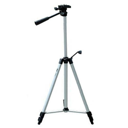 VHBW ® fotografía cámara de vídeo con trípode 3 vías fluid cabeza capacidad de carga 3kg aluminio trípode