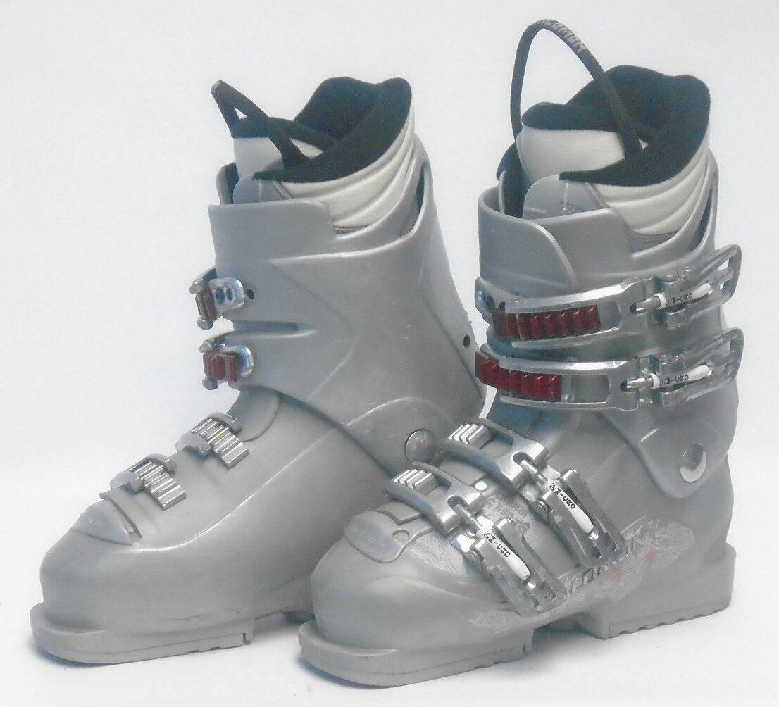 Salomon Charm Women's Ski Boots - Size 7   Mondo 24 Used
