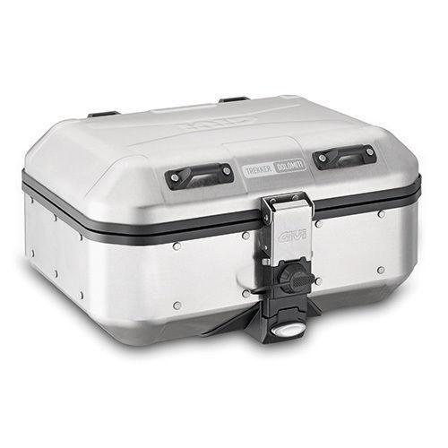 Maleta Monokey Givi DLM30A Trekker Dolomiti en Aluminio Natural, 30 Litros