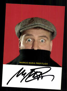 National Markus Maria Profitlich Autogrammkarte Original Signiert # Bc 136804 Wohltuend FüR Das Sperma Autogramme & Autographen