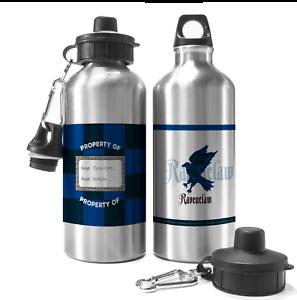 Personnalisé Harry Potter Serdaigle Aluminium eau boissons voyage bouteille Cadeau