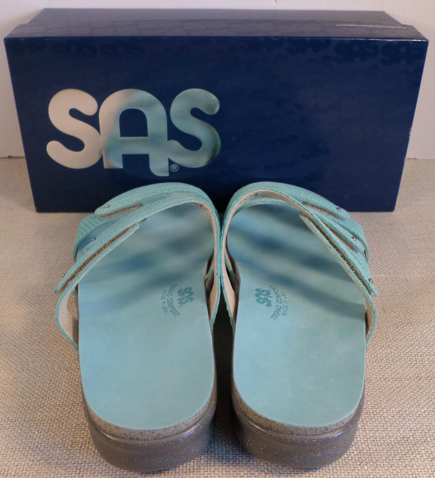 SAS FLIP ISKIA SKY WOMEN'S Blau FLIP SAS FLOP SANDALS NEW IN BOX 358e8b