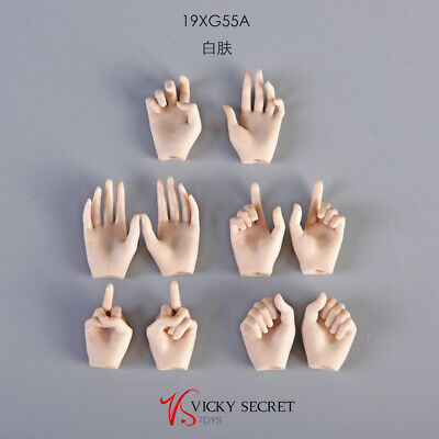 "VSTOYS 1//6 Half Glove Hands For 12/"" PHICEN TBleague Female Figure Body Dolls Toy"