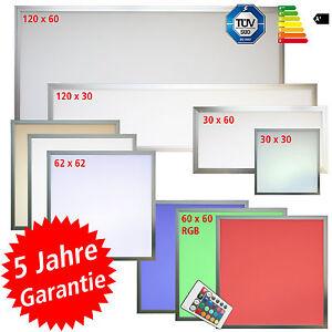 les 174 led panel 30x30 60x30 60x60 62x62 120x30 120x60 auch dimmbar erh superlux ebay