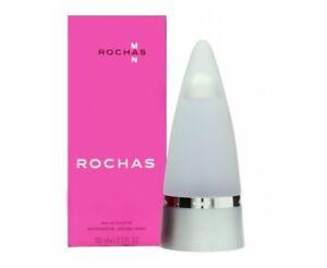 Detalles de Perfume Rochas Man Eau de Toilette EDT 100 ML spray (Hombre)