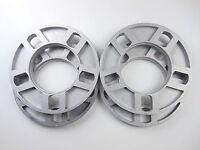 (4 Pc) 5 Lug Universal Wheel Spacers 5x4.75 & 5x5 1/2 12mm Fits Many More