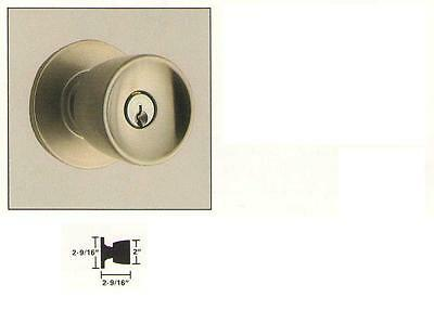 "Schlage #a40s-tulip Privacy 2-3/4x1"" In Many Styles Polished Brass"
