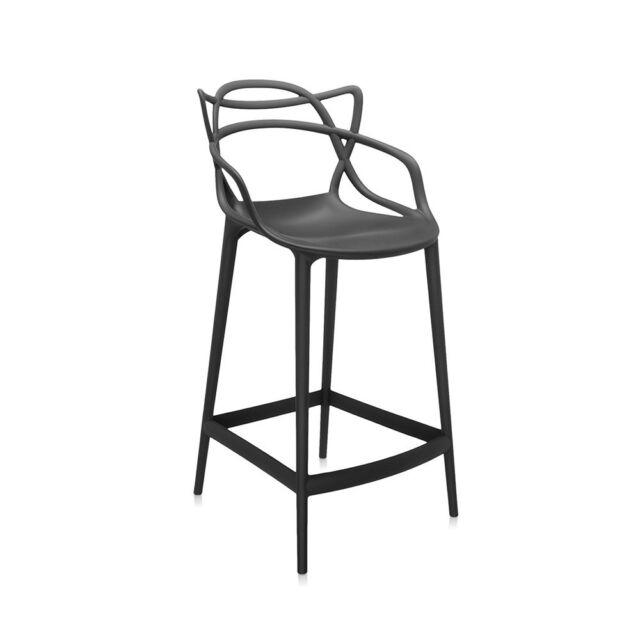 Wondrous Kartell Masters Bar Stool Philippe Starck 5869 09 Black Ready To Go Creativecarmelina Interior Chair Design Creativecarmelinacom