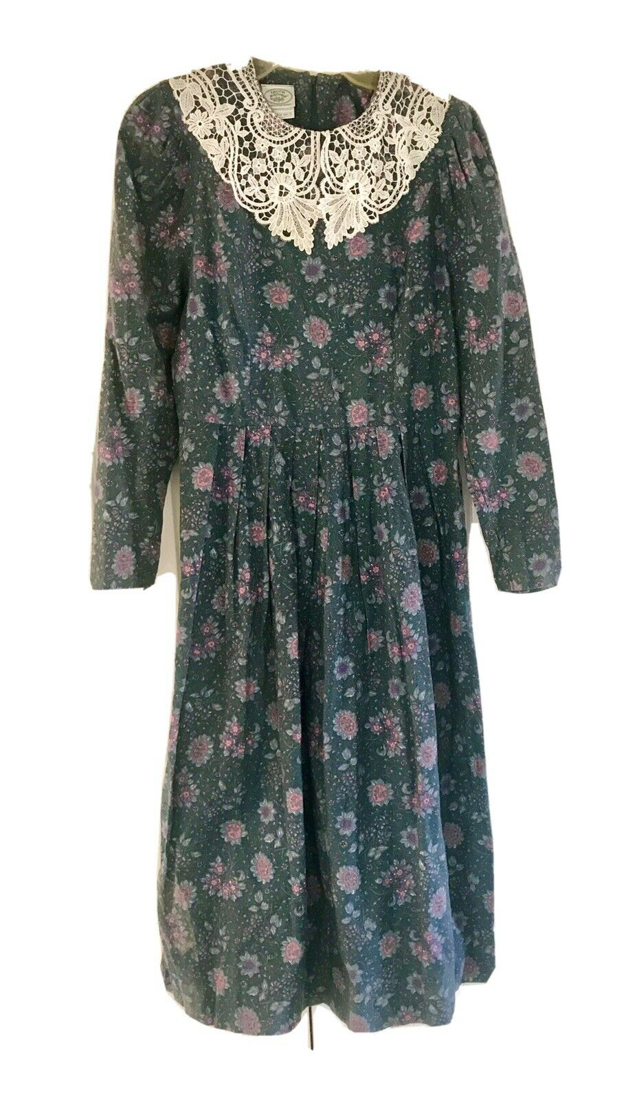 Vintage Laura Ashley 80s 90s Floral French Countr… - image 1