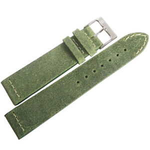 20mm-ColaReb-Spoleto-Green-Leather-Made-in-Italy-Aviator-Watch-Band-Strap