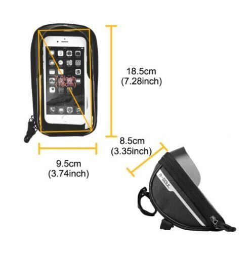 "M Pouch Bike Phone 6.5/"" smartphone iPhone Bike door objects DualFit"