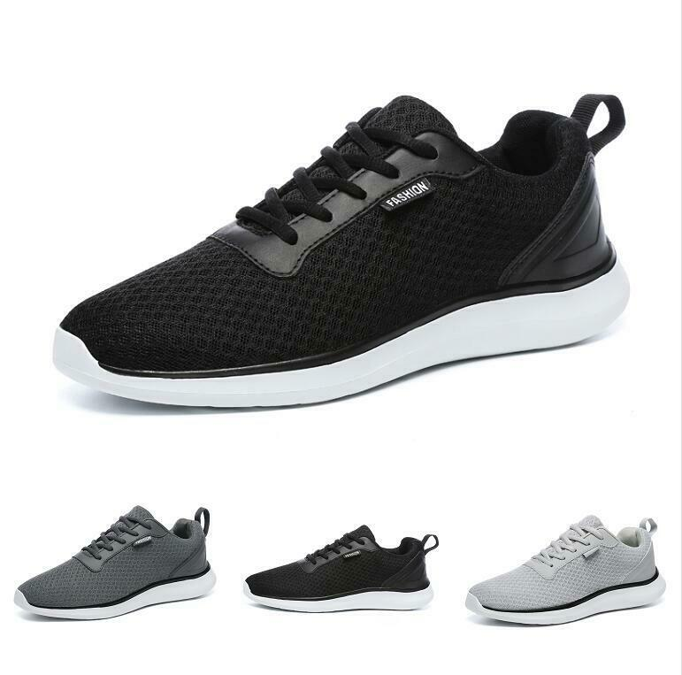 Casuals shoes Men Breathable Running Sneaker Nesh Mid Top Trail Athletic Sport