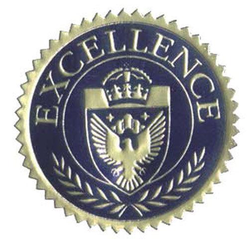2 12 Pcs Excellence Seal No