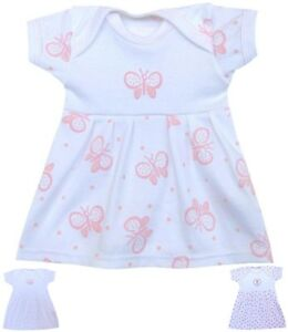 82f124aa374 Details about BabyPrem Preemie Premature Tiny Baby Clothes Girls Dress  Dresses - Up to 7.5lbs