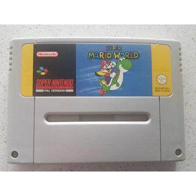 *AUS SELLER* Super Nintendo SUPER MARIO WORLD snes
